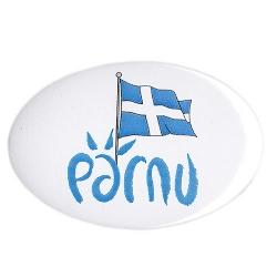 Pärnu logoga magnet avaja